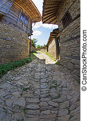 Rural paving in Balkahan