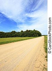 rural road spring