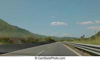 Autotravel to the city of Sorrento