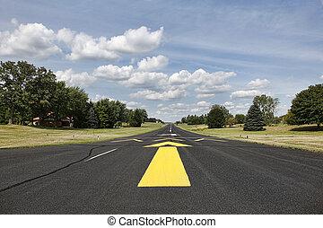 Rural runway in Southern Wisconsin - Rural runway for small...