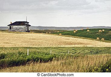 Rural Saskatchewan school house