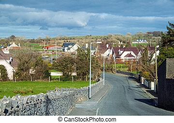Rural scene - A rural scene in Co. Galway, Ireland.