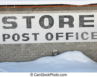 rural store sign