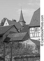 rural village detail