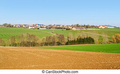 rural village in Hohenlohe