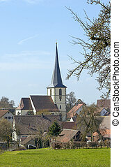 rural village in Southern Germany