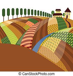 rurale, paesaggio