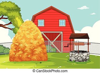 rurale, terreno coltivato, paesaggio