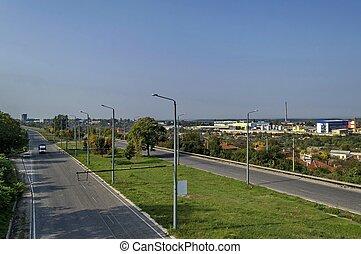 ruse-sofia, autoroute, vue