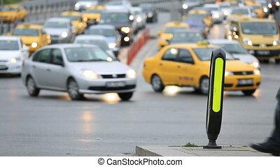 rush hours city traffic