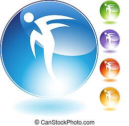 Rush Step Dancer Crystal Icon