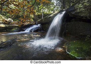 rush waterfall