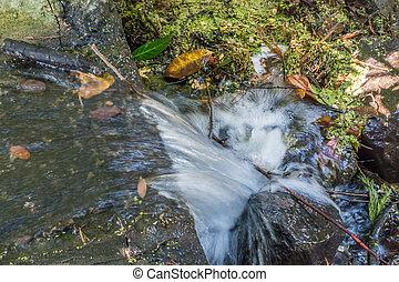 Rushing Water Closeup