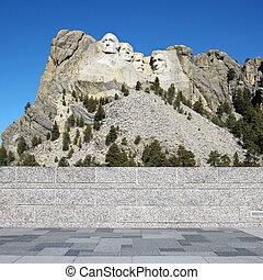 rushmore, monte, memorial.