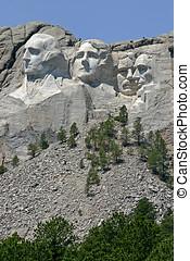 rushmore, monte, monumento nacional