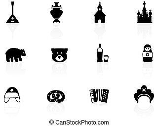 rusia, iconos