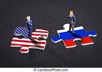 rusia, relaciones, estados unidos de américa, entre