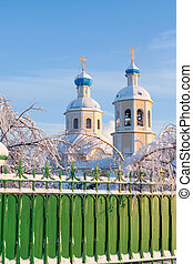 ruso, ortodox, church.