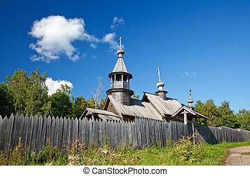 ruso, ortodox, iglesia vieja