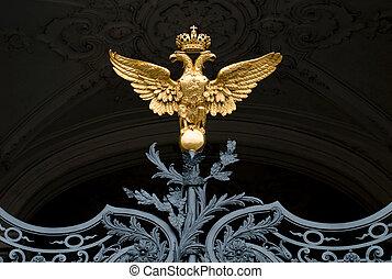 ruso, símbolo, imperio