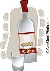 ruso, vodka