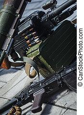 ruso, weapon:, arma, soviético, pila
