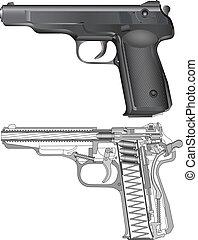 russe, aps, fusil