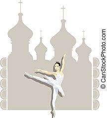 russe, ballerine