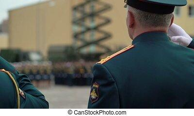 russe, soldats, armée