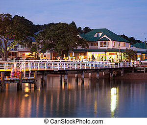Russell New Zealand - Russell in the Bay Of Islands North...