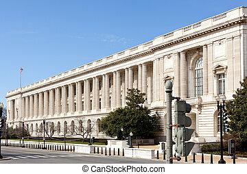 Russell Senate office building facade Washington