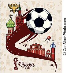 Russia 2018 world soccer