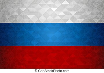 Russia background template for soccer event
