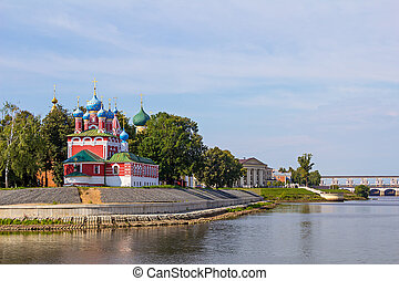 Russia. Church of St. Dmitry on the Blood in Uglich.