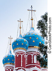 Russia Church of Tsarevich Dmitry on the Blood in Uglich