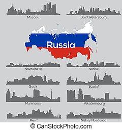 Russia cities skylines