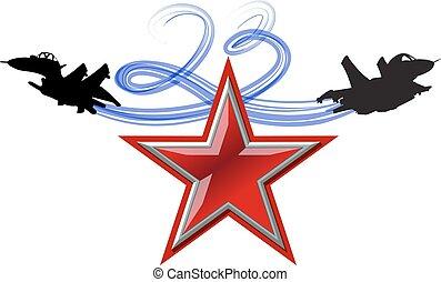 russia., februar, feiertag