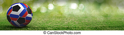 Russia football sport background