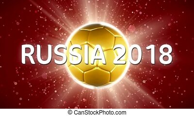 Russia Football. World Sport Event. - Russia Football. A...
