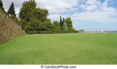 Green field for golf
