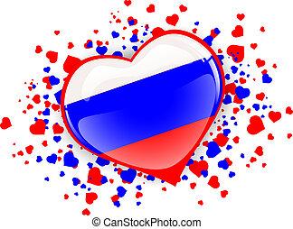 Russia Heart