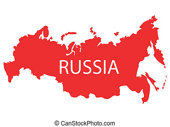Russia map vector clip art Search Illustration Drawings and