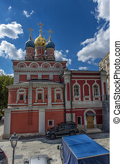 Church of the Theotokos of the Sign (Znamensky Monastery) in Moscow, Russia