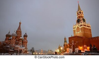 Russia, Moscow, Red Square, Kremlin, Heart of Russia,...