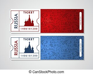 Russia plane tickets for travel and tourism
