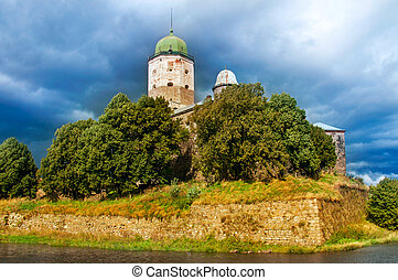 Russia. St Olaf castle in Vyborg