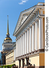 Russia. St. Petersburg. A view of the Admiralty