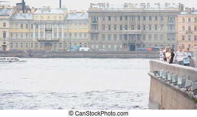 Neva River - Russia, St. Petersburg, Neva River 07/05/2011
