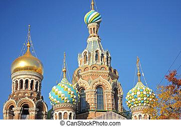 "Russia, St. Petersburg, Orthodox Church ""Spas na Krovi"""