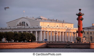 Vasilevsky Island - Russia, St. Petersburg, Vasilevsky...